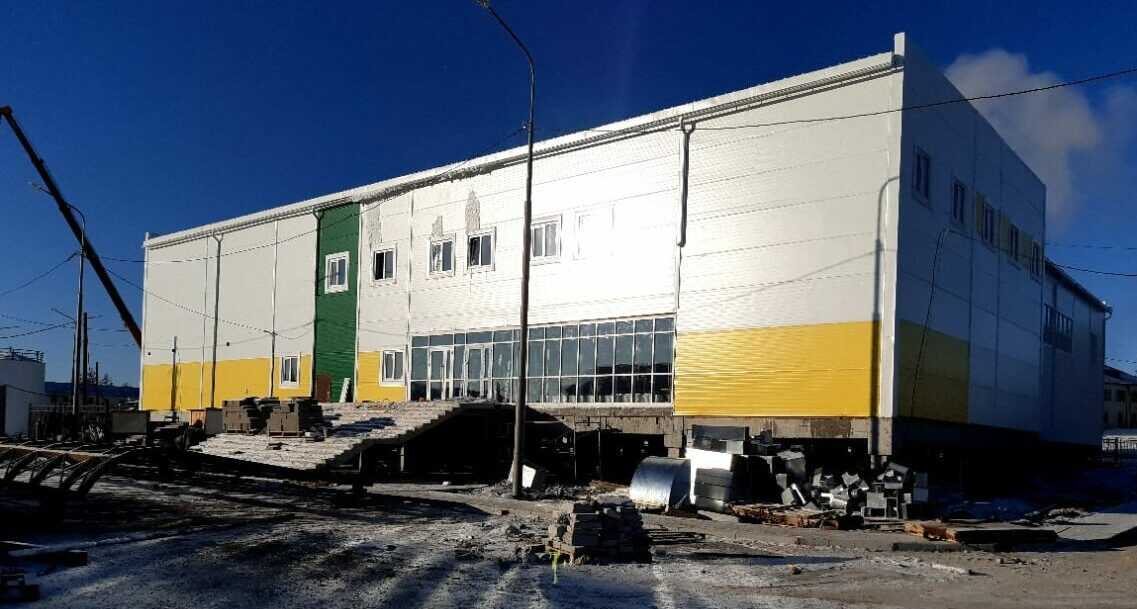 К Играм Манчаары в селе Бердигестях Якутии построят три крупных спортивных объекта