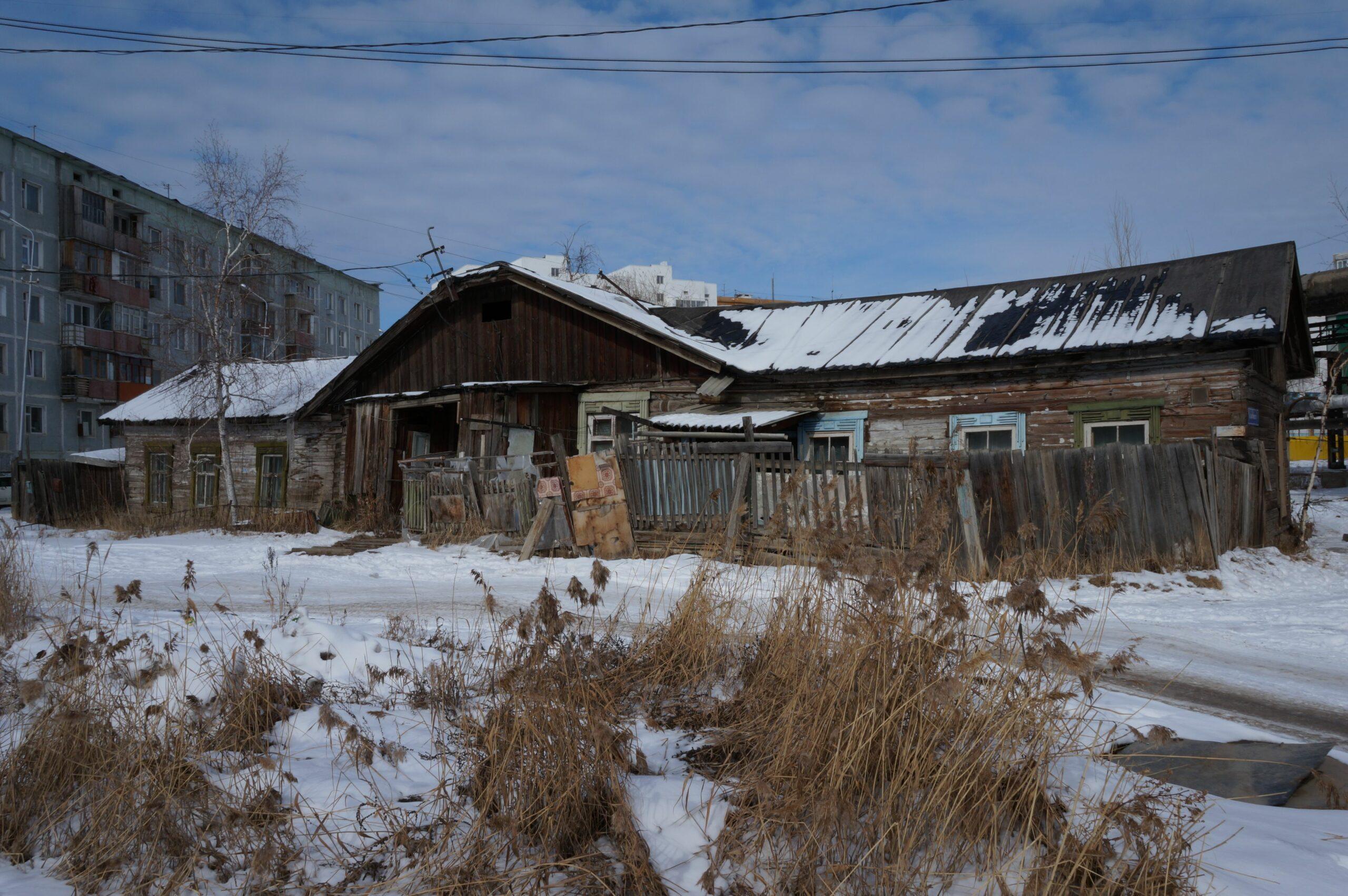 В Якутске планируют переселить всех жителей из деревянного жилого фонда к 2032 году
