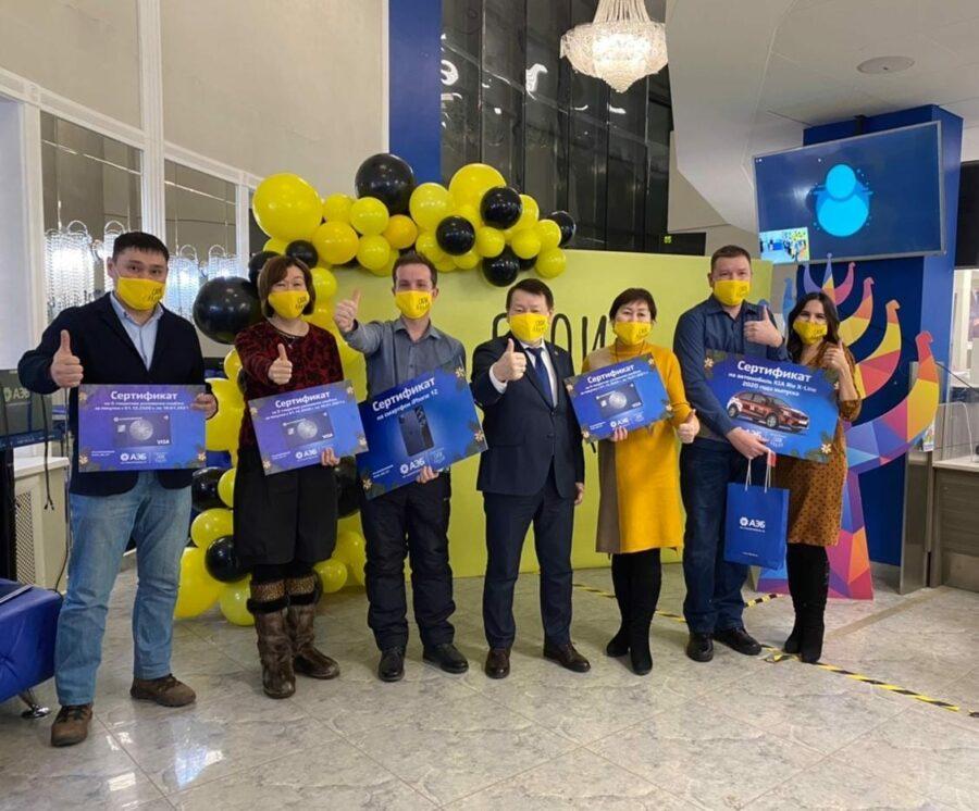 Алмазэргиэнбанк вручил призы победителям акции «Своим»