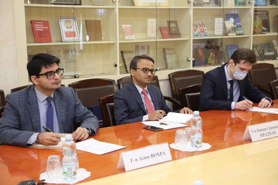 В постпредстве Якутии обсудили организацию предстоящего визита в республику посла Индии в России