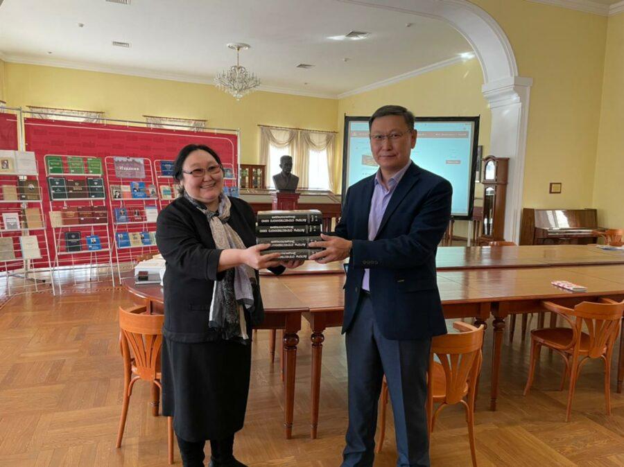 Целевой фонд будущих поколений присоединился к акции «Дарите книги с любовью»