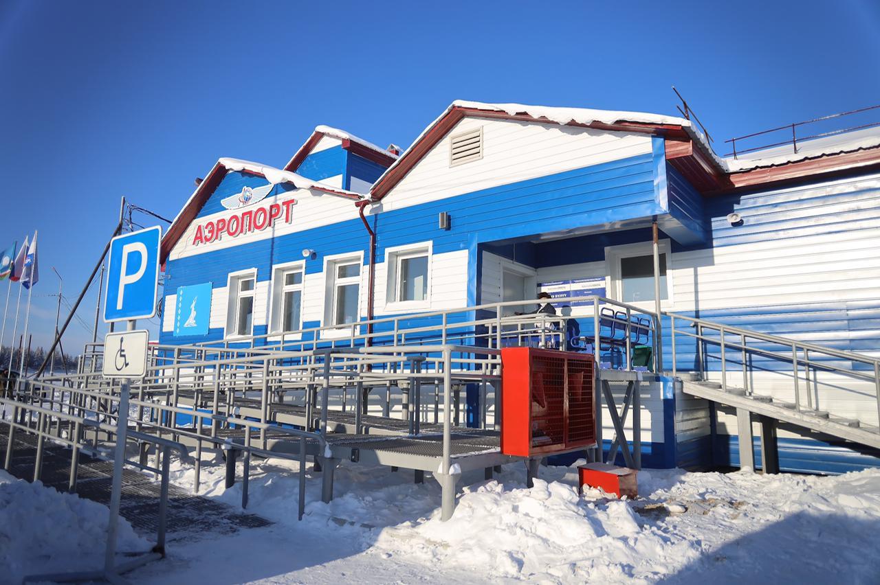 В Верхневилюйске открыли новое здание аэропорта