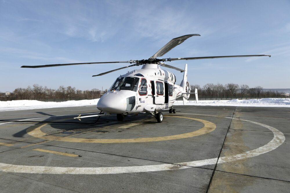 Многоцелевые вертолеты Ка-62 придут на смену Ми-8 на Дальнем Востоке