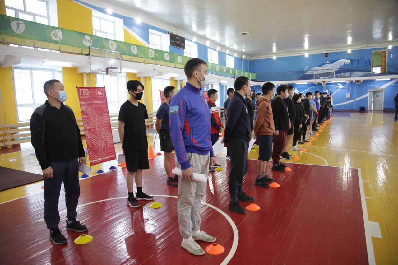 Члены сборной команды Якутска прошли тестирование ГТО