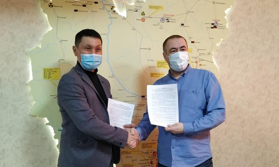 Наслег Аллаиховского района и Арктический научный центр заключили соглашение о сотрудничестве