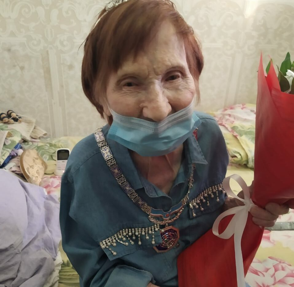 Сегодня отмечает 100-летний юбилей якутянка Дария Алексеевна Лявданская