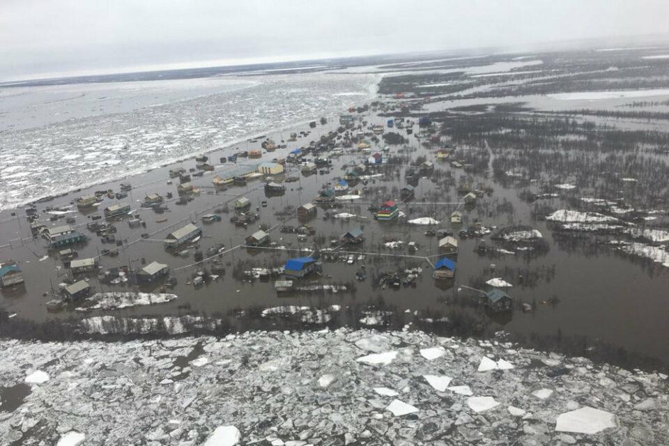 Гидролог: Большие снегозапасы на реках Якутии могут повлиять на половодье