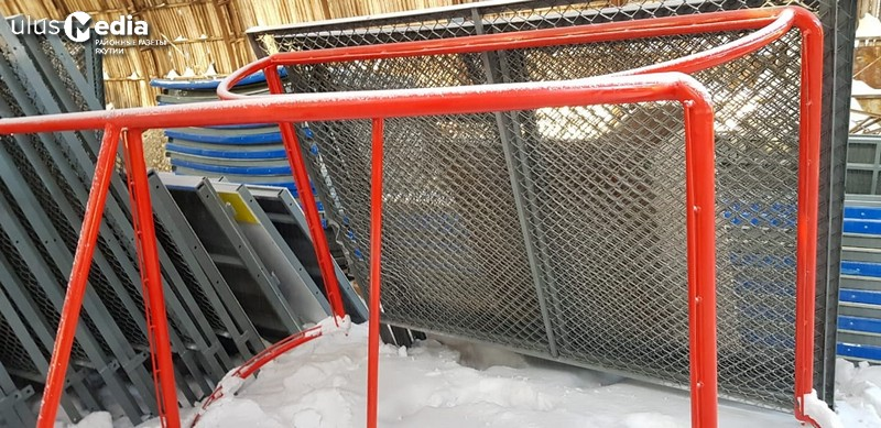 В Олекминске появится хоккейный корт под открытым небом