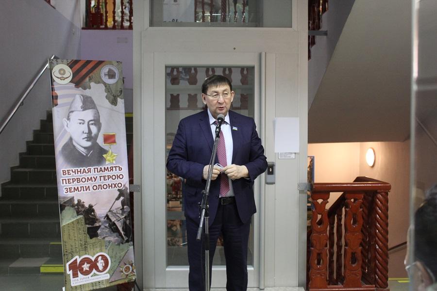 В Якутском музее открылась выставка, посвященная Герою Советского Союза Федору Попову