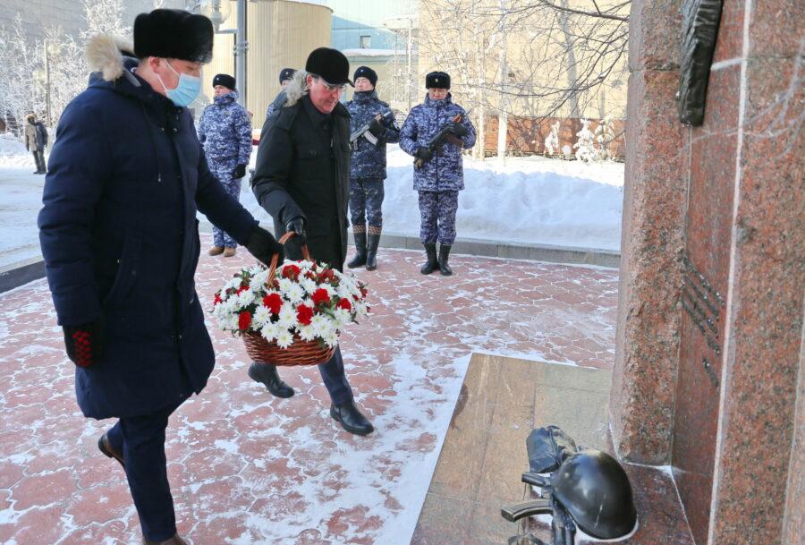 В Мирном почтили память воинов-интернационалистов
