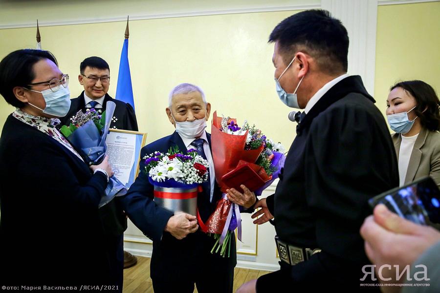 В Якутии наградили лучших в области развития родного языка и письменности