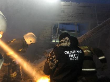 В Якутии по факту гибели женщины при пожаре жилого дома возбудили уголовное дело