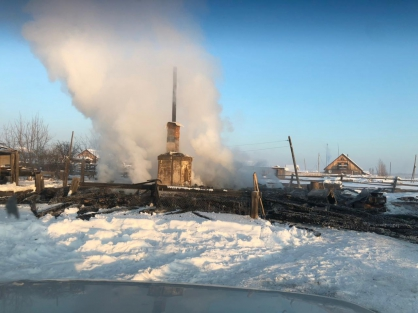 Следователи проверяют факты гибели людей при пожарах в двух районах Якутии