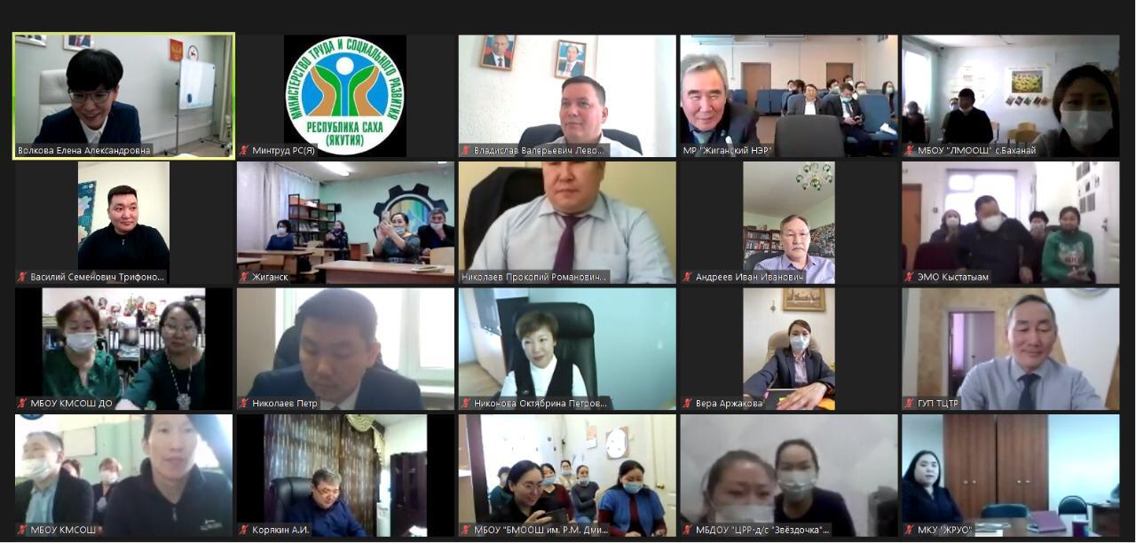 Министр труда и соцразвития Якутии отчиталась перед жителями Жиганского улуса