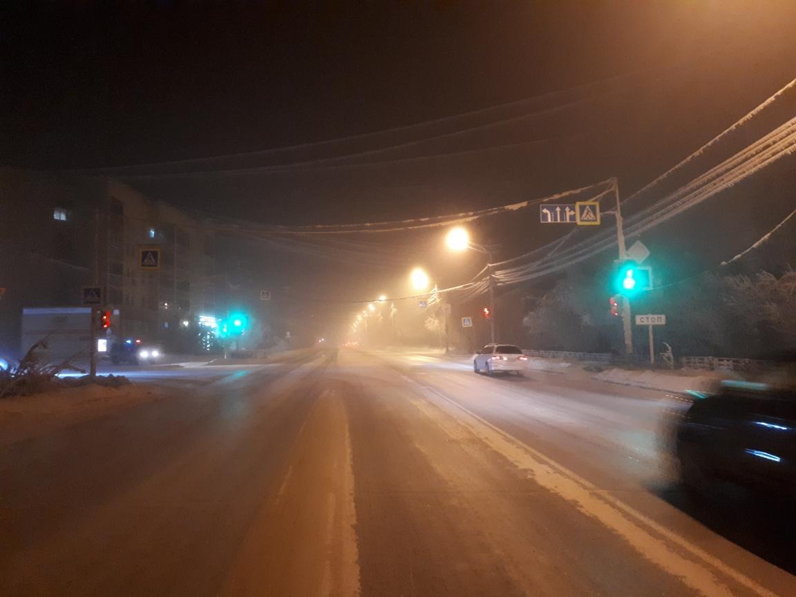 В Якутске водитель сбил женщину и скрылся с места ДТП