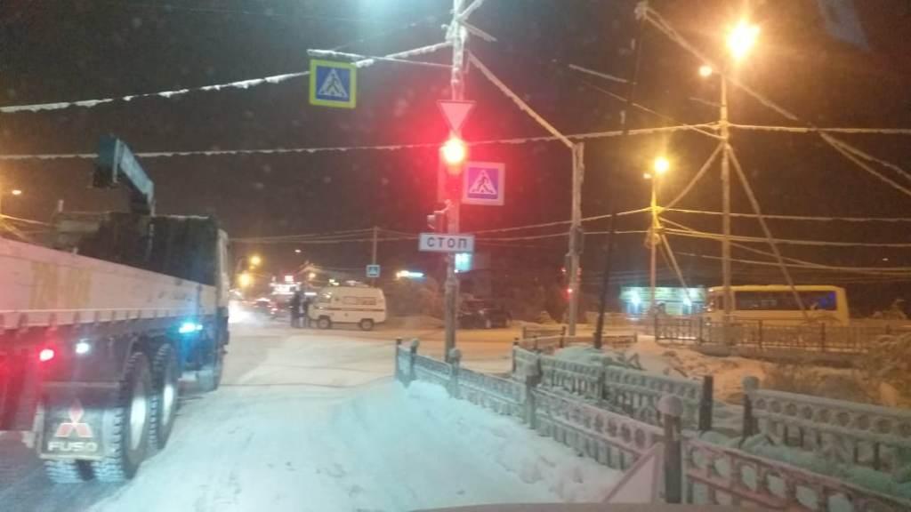 ДТП со скорой Якутск 09.02.21П