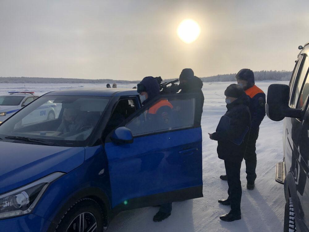 В Якутии за несанкционированный выезд на ледоштрафовали более 70 водителей