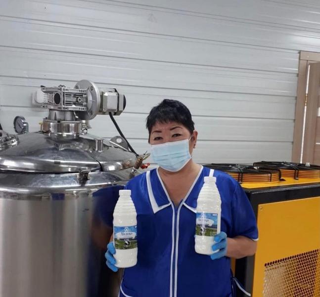 В Нюрбинском районе Якутии начали производить йодированное молоко