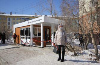 В Якутске открыли первую в этом году теплую остановку