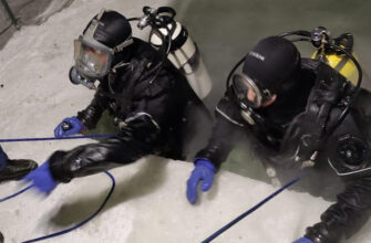 Спасатели-водолазы МЧС России провеливЯкутиисбор по водолазной подготовке