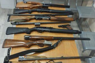 За выходные дни в Якутске изъяли 18 единиц оружия