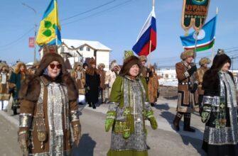 В Чурапчинском улусе День работника культуры отметили шествием народных мастеров