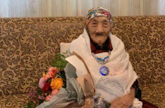 Жительнице Якутии Анне Афанасьевой исполнилось 100 лет