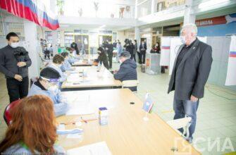 На голосовании по выборам мэра Якутска обеспечены комплексные меры санитарной безопасности
