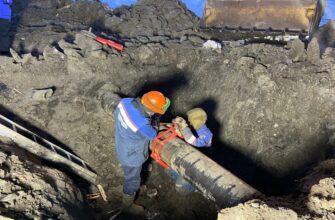 Газовики завершили аварийно-восстановительные работы в районе Птицефабрики