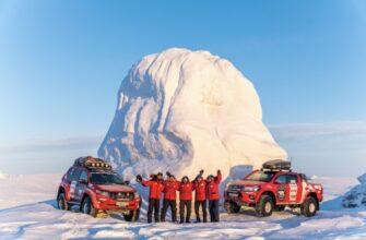 Пресс-конференция арктической экспедиции «Через Полюс холода»