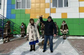 В арктическом селе Якутии открыли новый детский сад