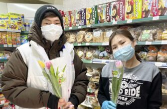 Молодогвардейцы Якутии поздравили женщин с 8 марта