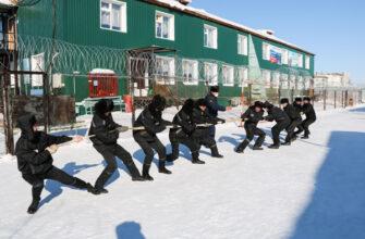 В лечебно-исправительном учреждении № 5 осужденные «проводили зиму»