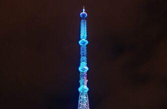 Якутская телебашня зажжется синим цветом в поддержку детей с аутизмом