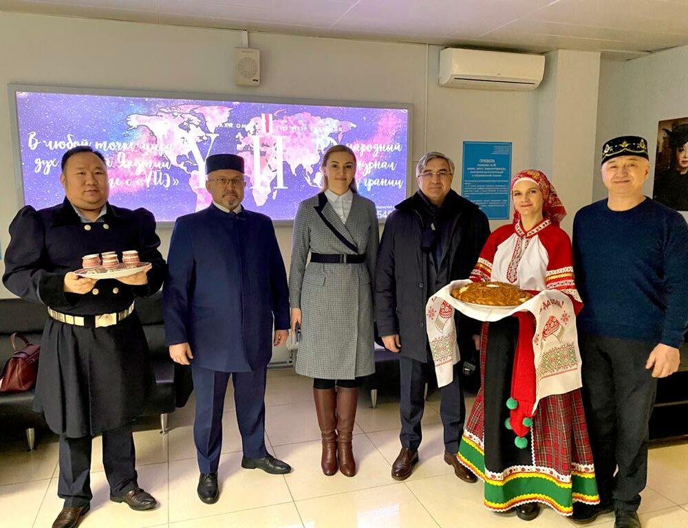 В Якутию прибыла делегация Татарстана