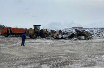 На мусорном полигоне Якутска продолжат эксперимент по раннему обнаружению очагов возгорания
