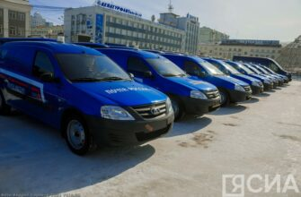 Почтовый автопарк Якутии пополнился на 47 новых автомобилей