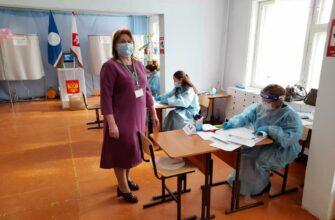 Избиратели активны, в здании для них все безопасно. В УИК №777 полным ходом идет голосование