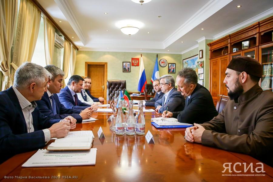 Межрегиональное сотрудничество. Якутия и Татарстан будут обмениваться опытом