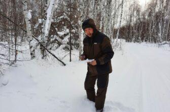 В Кобяйском районе завершен зимний маршрутный учет