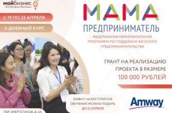 Якутянки могут бесплатно обучиться основам бизнеса по программе «Мама-предприниматель»