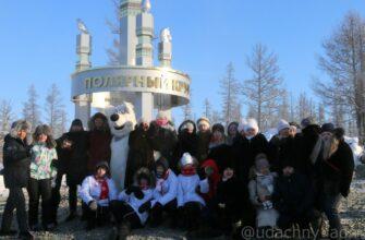 Новая стела «Полярный круг» ждет туристов