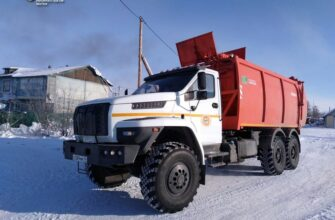 В Белой Горе начала работу новая спецтехника для вывоза ТКО