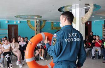 В Якутии юных инспекторов движения познакомилис правилами безопасного поведения на водных объектах