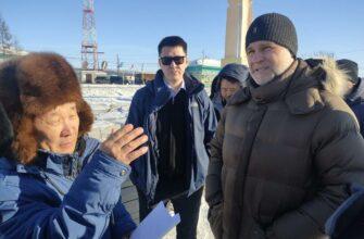 Кирилл Бычков проверил ход строительства социальных объектов в Верхоянском районе