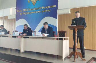Министр МВД по Якутии проинспектировал работу отделов в двух районах республики