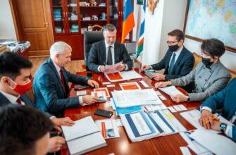 Кирилл Бычков обсудил перспективы сотрудничества Якутии с руководством АО «Альфа-Банк»