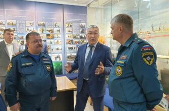 В Якутске завершила работу  группа Центрального аппарата МЧС России