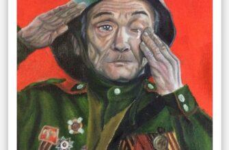 Рисунок о героях войны юной художницы из Якутии признали одним из лучших народным голосованием