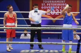 Василий Егоров занял третье место на Кубке губернатора Санкт-Петербурга
